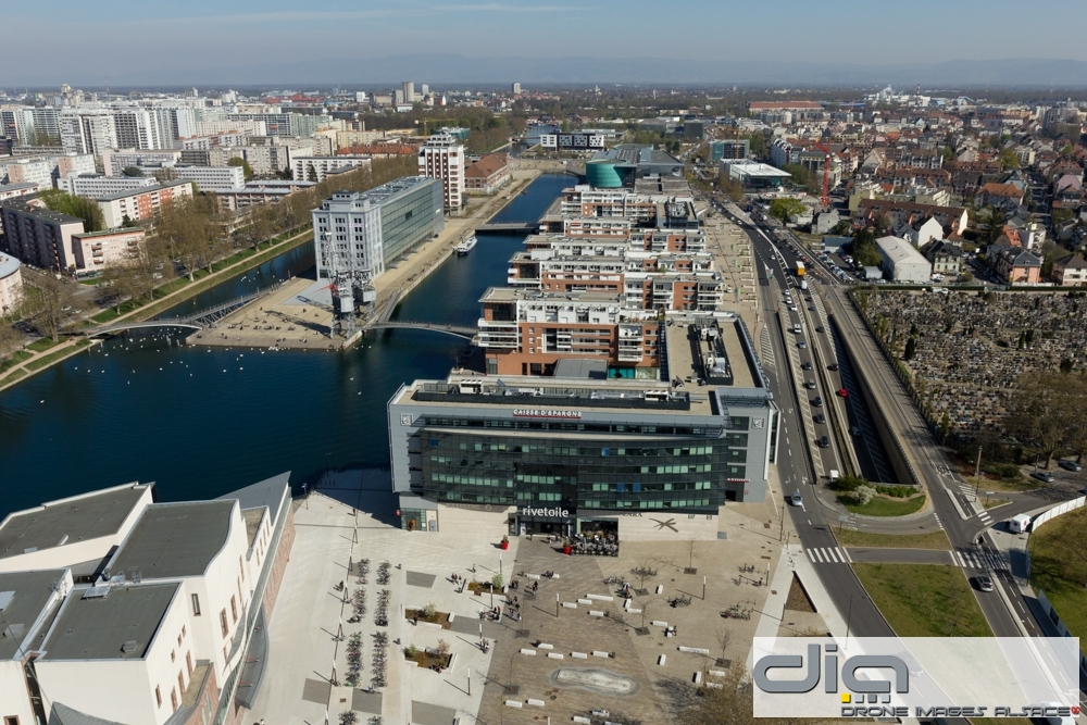 Rive etoile archives drone images alsace - Rive etoile strasbourg ...